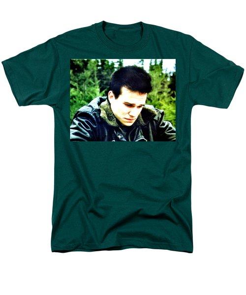 James T-Shirt by Luis Ludzska