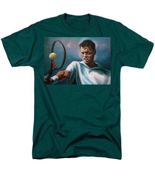 Sjeng Schalken T-Shirt by Paul  Meijering