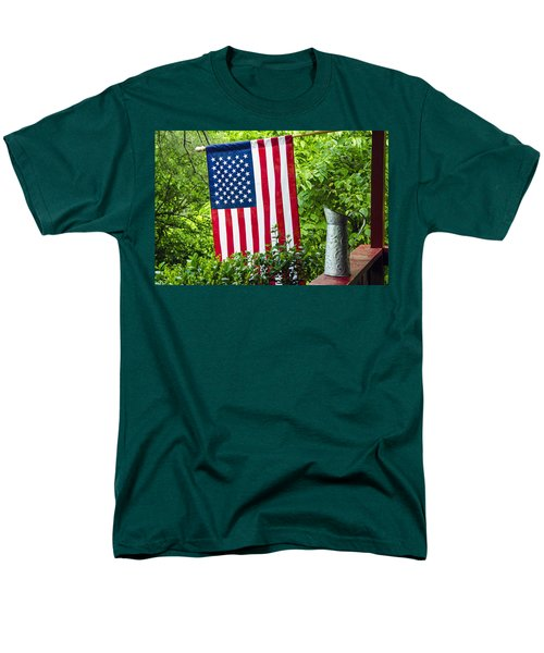 Back Porch Americana T-Shirt by Carolyn Marshall