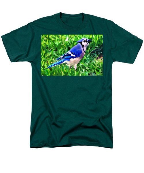Blue Jay Men's T-Shirt  (Regular Fit) by Stephen Younts