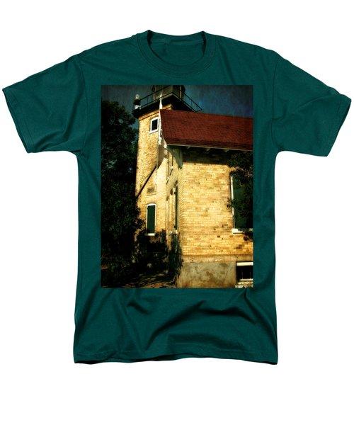 Eagle Bluff Light T-Shirt by Michelle Calkins