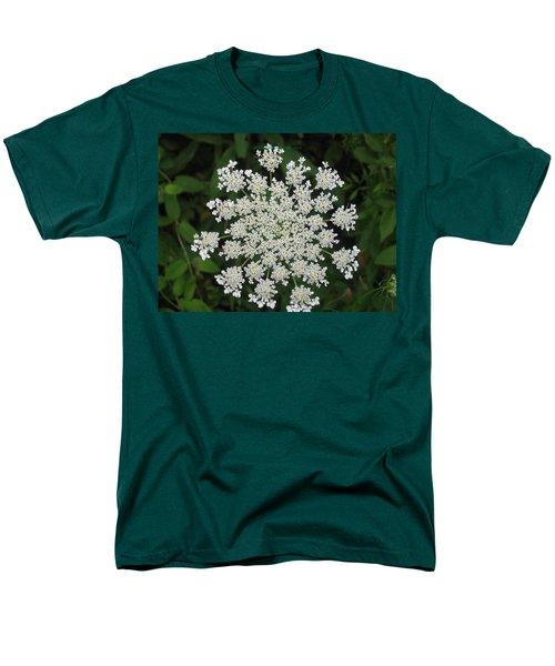 Floral disc T-Shirt by Sonali Gangane