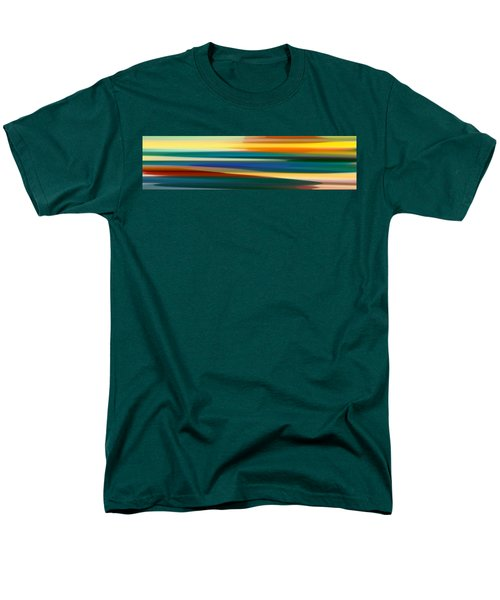 Fury Seascape Panoramic 1 T-Shirt by Amy Vangsgard