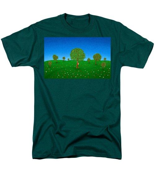 Happy Walking Tree T-Shirt by Gianfranco Weiss
