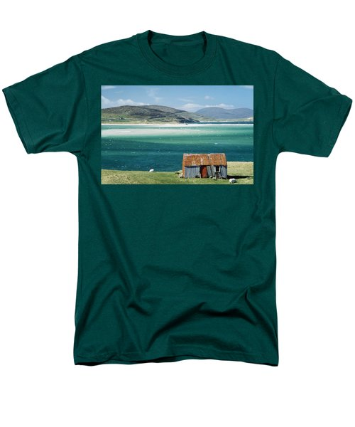 Hut On West Coast Of Isle T-Shirt by Rob Penn