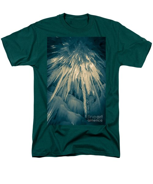 Ice Cave Men's T-Shirt  (Regular Fit) by Edward Fielding