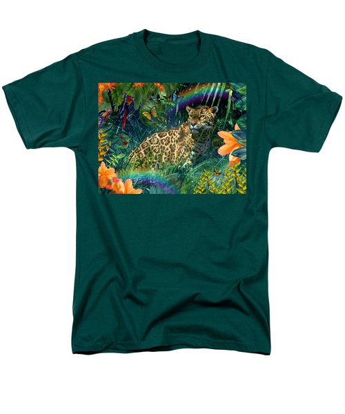 Jaguar Meadow  Variant 1 T-Shirt by Alixandra Mullins