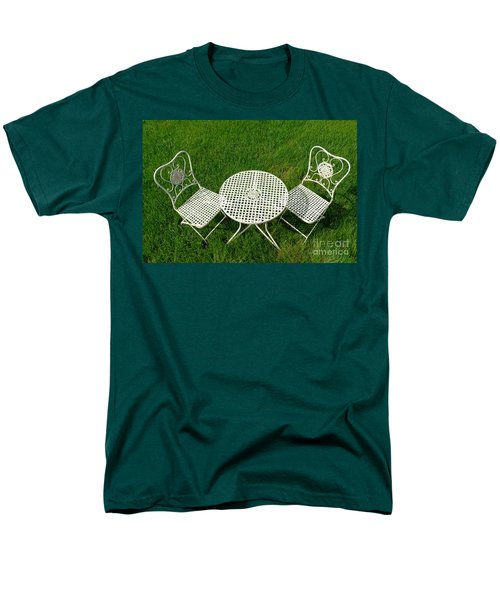 Lawn Furniture T-Shirt by Olivier Le Queinec