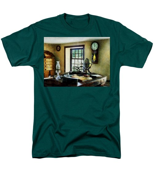 Lawyer - Globe Books and Lamps T-Shirt by Susan Savad