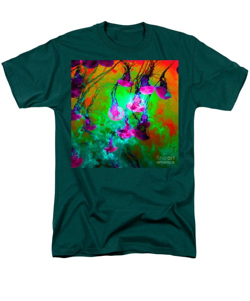 Medusas On Fire 5D24939 square p128 T-Shirt by Wingsdomain Art and Photography