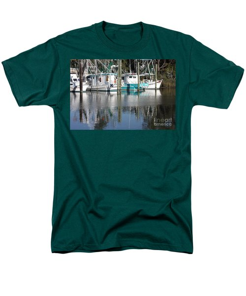 Mississippi Boats T-Shirt by Carol Groenen