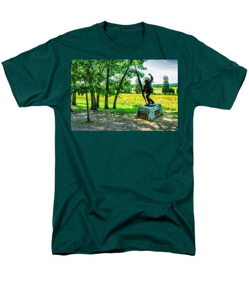 Mississippi Memorial Gettysburg Battleground T-Shirt by  Bob and Nadine Johnston