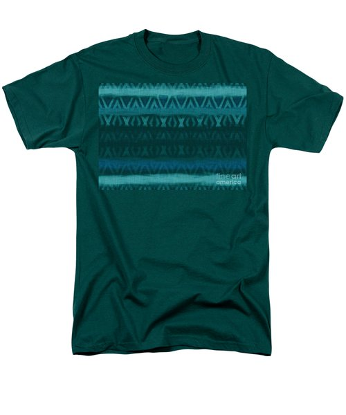 Northern Teal Weave T-Shirt by CR Leyland