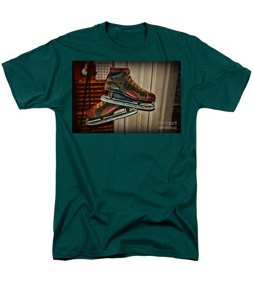 Old Hockey Skates T-Shirt by Paul Ward