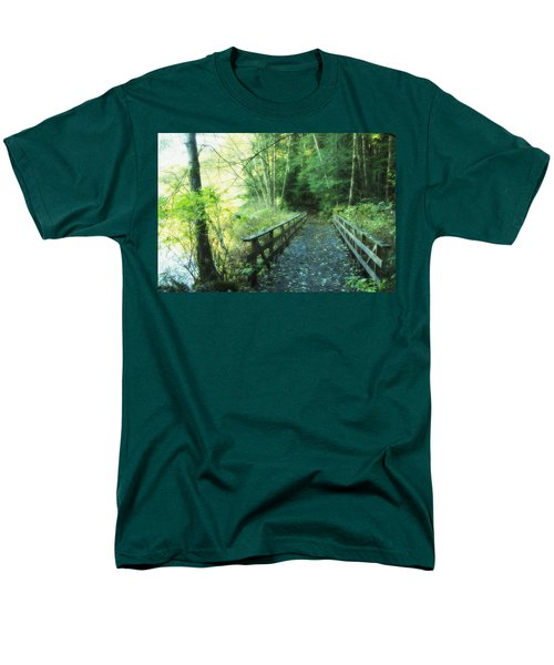 Rice Lake In North Vancouver T-Shirt by Marlene Ford