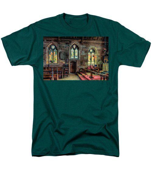 Stained Glass T-Shirt by Adrian Evans