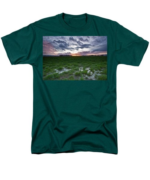 Sunset in the swamp T-Shirt by Eti Reid