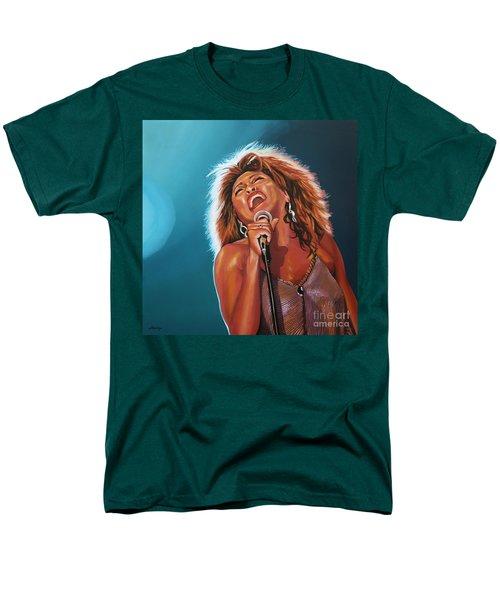 Tina Turner 3 Men's T-Shirt  (Regular Fit) by Paul Meijering