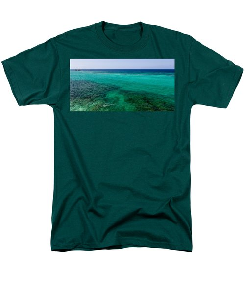 Turks Turquoise T-Shirt by Chad Dutson