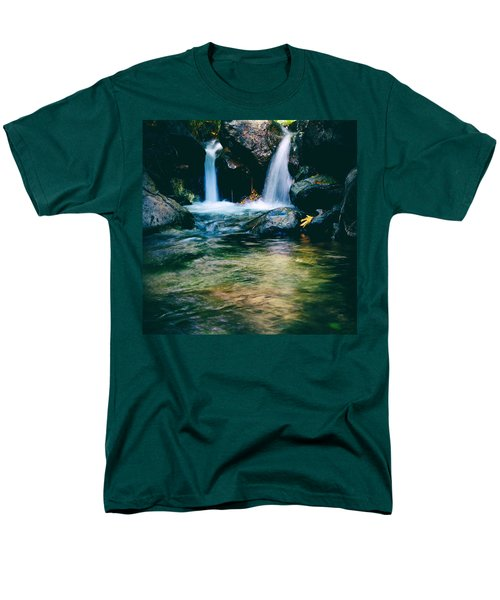 twin waterfall T-Shirt by Stylianos Kleanthous