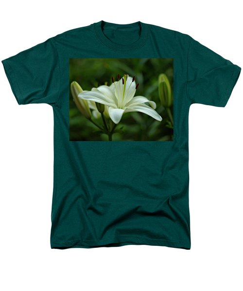 White Lily T-Shirt by Sandy Keeton