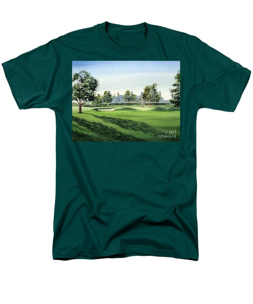 Winged Foot West 18Th Hole T-Shirt by Bill Holkham