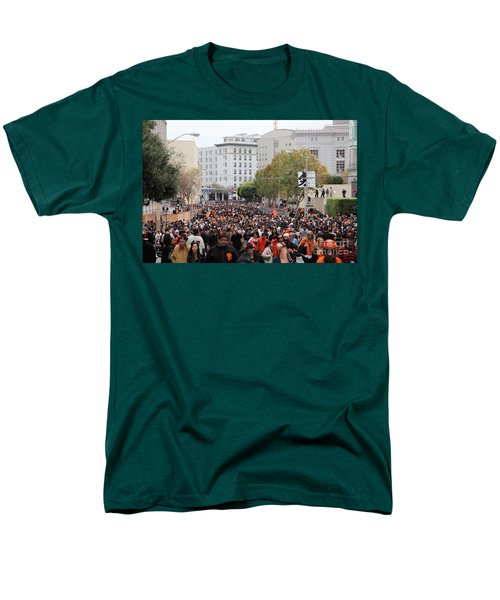 2012 San Francisco Giants World Series Champions Parade Crowd - DPP0001 T-Shirt by Wingsdomain Art and Photography