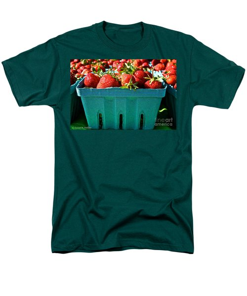 Blue Box T-Shirt by Susan Herber