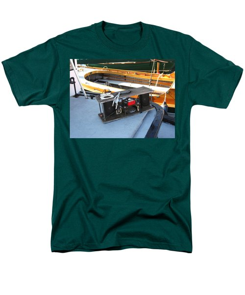 Boat Builders Music Box T-Shirt by Kym Backland