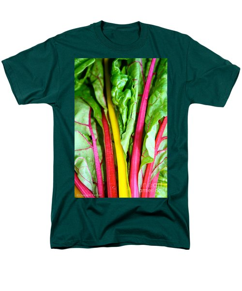 Candy Color Greens T-Shirt by Susan Herber