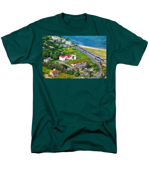 Chatham Lighthouse Cape Cod Massachusetts T-Shirt by Matt Suess