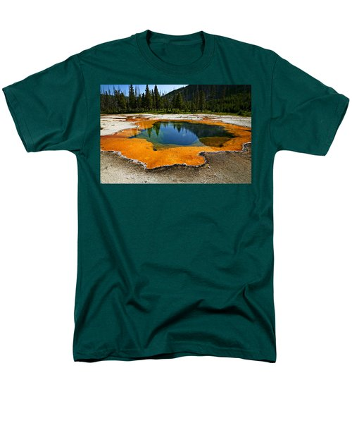 Hot Springs yellowstone T-Shirt by Garry Gay
