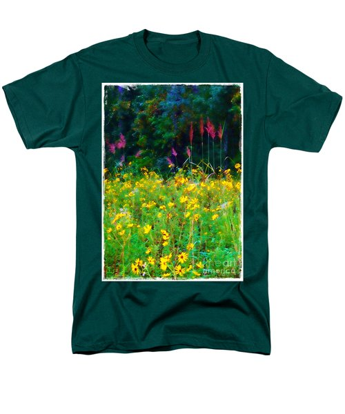 Sunflowers and Grasses T-Shirt by Judi Bagwell