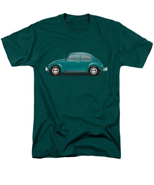 1967 Volkswagen Sedan - Java Green Men's T-Shirt  (Regular Fit) by Ed Jackson
