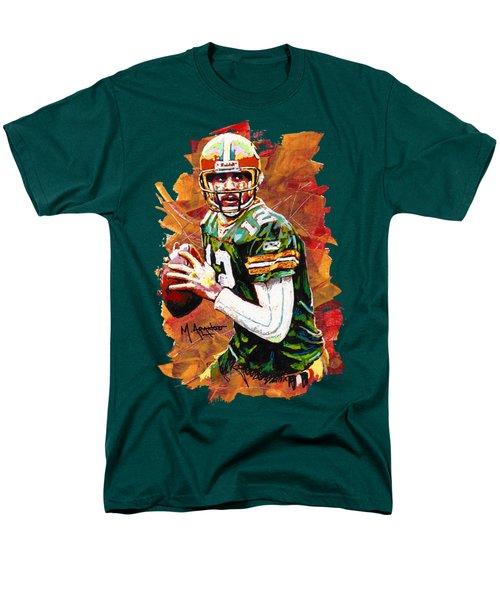 Aaron Rodgers Men's T-Shirt  (Regular Fit) by Maria Arango