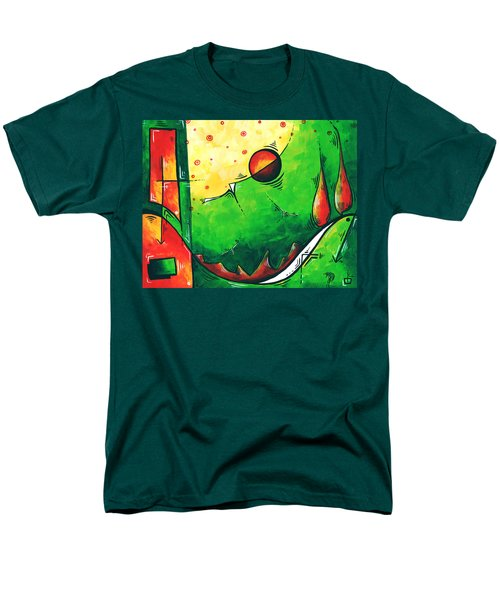 Abstract Pop Art Original Painting T-Shirt by Megan Duncanson