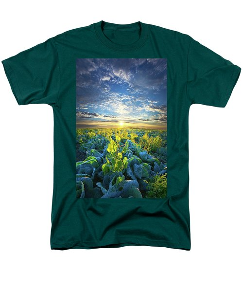 All Joined As One Men's T-Shirt  (Regular Fit) by Phil Koch