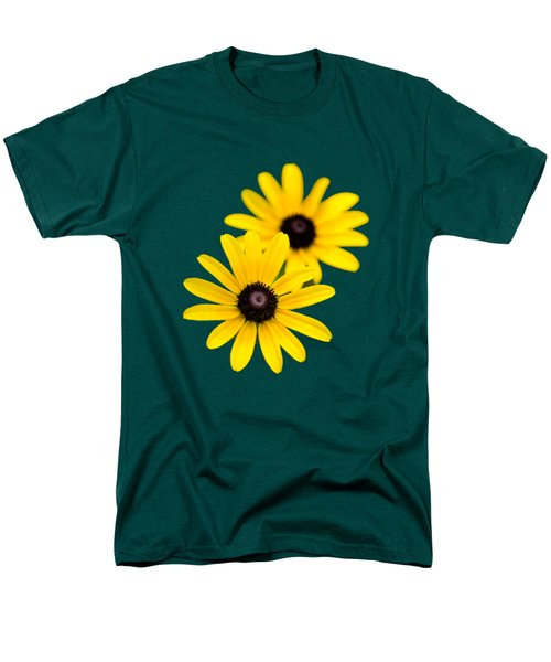 Black Eyed Susans Men's T-Shirt  (Regular Fit) by Christina Rollo