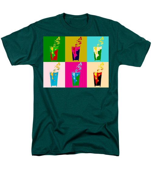 Bloody Mary Pop Art Panels Men's T-Shirt  (Regular Fit) by Dan Sproul