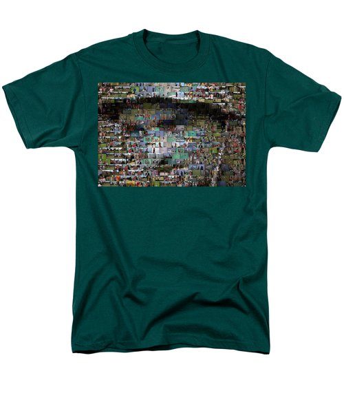 Carl Caddyshack Mosaic T-Shirt by Paul Van Scott