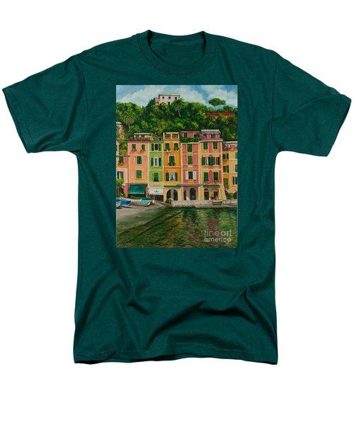 Colorful Portofino T-Shirt by Charlotte Blanchard