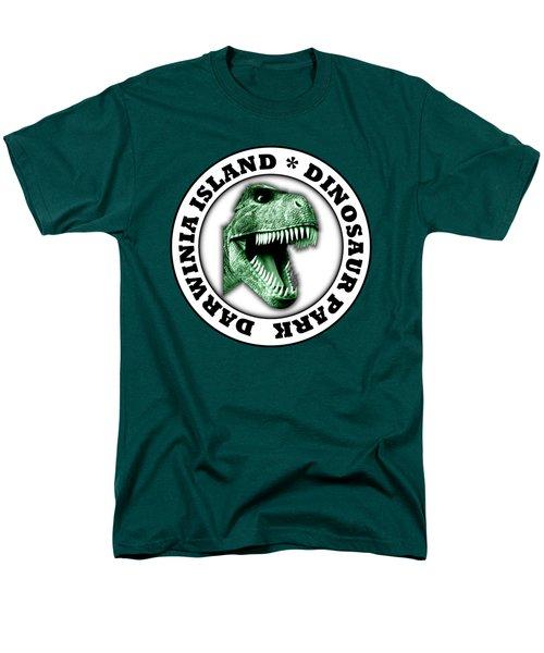 Dinosaur Park Men's T-Shirt  (Regular Fit) by Gaspar Avila