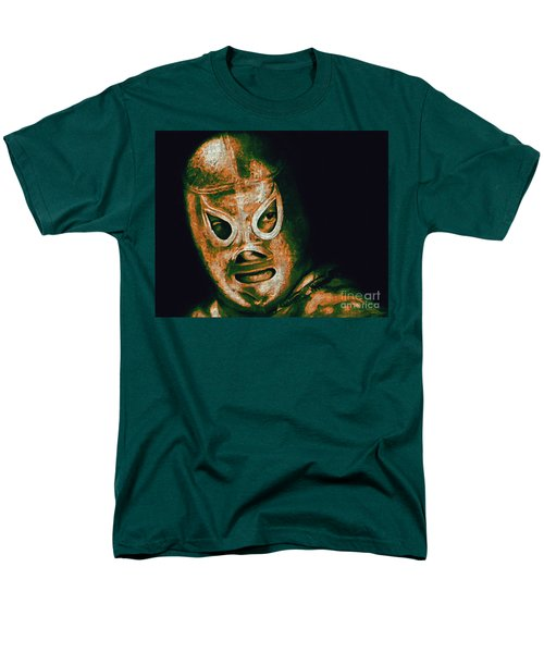 El Santo The Masked Wrestler 20130218 T-Shirt by Wingsdomain Art and Photography