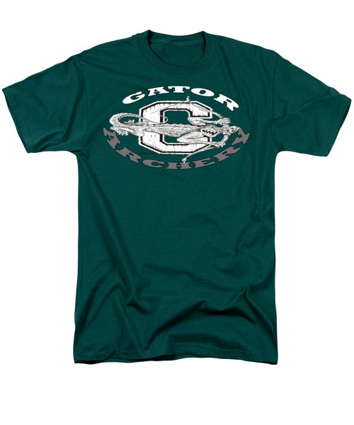 Gator Archery Men's T-Shirt  (Regular Fit) by Julio Lopez