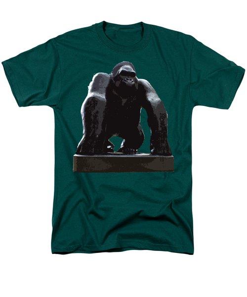 Gorilla Art Men's T-Shirt  (Regular Fit) by Francesca Mackenney