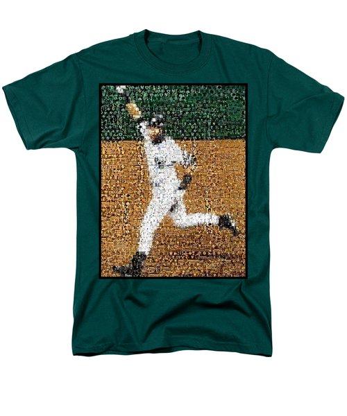 Jeter Walk-Off Mosaic T-Shirt by Paul Van Scott