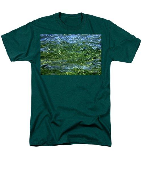 Lake Tahoe Abstract T-Shirt by Carol Groenen
