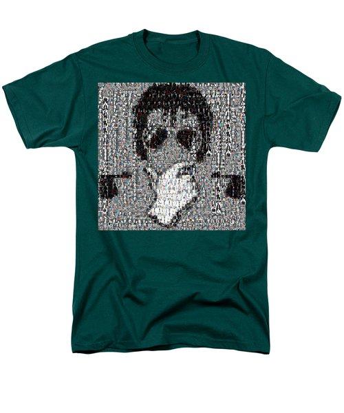 Michael Jackson Glove Montage Men's T-Shirt  (Regular Fit) by Paul Van Scott