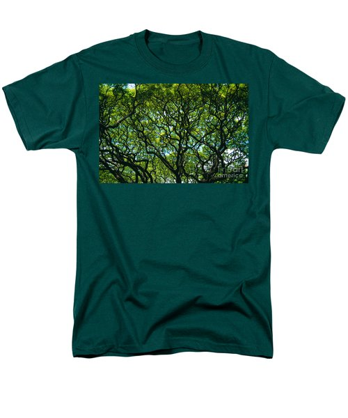 Monkeypod Canopy T-Shirt by Peter French - Printscapes