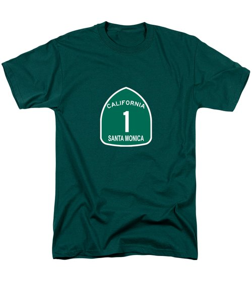 Pch 1 Santa Monica Men's T-Shirt  (Regular Fit) by Brian's T-shirts